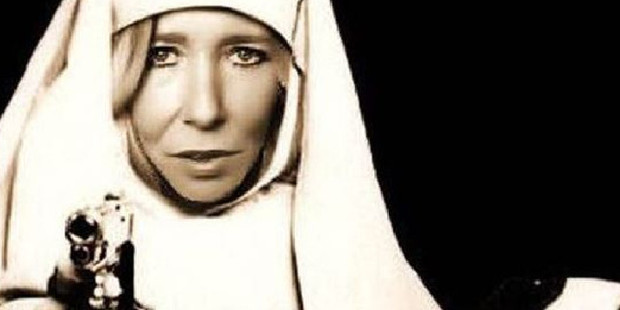 Sally Jones converted to Islam after meeting her husband online. Photo / Twitter