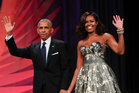 Former US President Barack Obama and first lady Michelle Obama. Photo / AP file