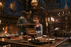 Dan Stevens as The Beast and Emma Watson as Belle in the live-action adaptation of the animated classic