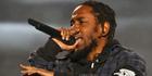 Kendrick Lamar is firing more shots on a bold new single. Photo/AP