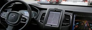 Self-driving SUV Uber involved in crash