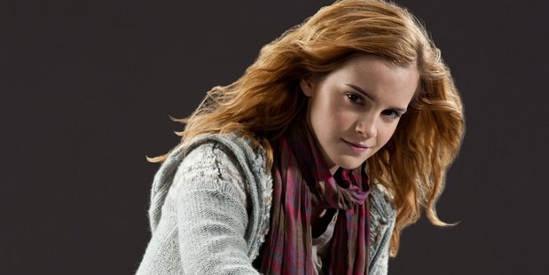 Emma Watson as Hermione Granger, the Harry Potter wannabe for legions. Photo / Supplied