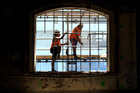 Downer Construction staff working in Auckland. Photo / File