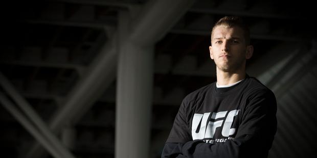 Kiwi UFC fighter Daniel Hooker. Photo / Greg Bowker