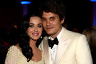 Singers Katy Perry and John Mayer. Photo / Getty