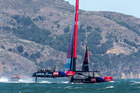 Emirates Team New Zealand in action. Photo / Getty Images