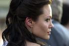 Angelina Jolie during Lara Croft Tomb Raider premiere. Photo / Getty