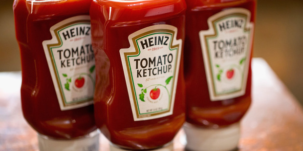 Ketchup should be kept in the fridge after opening. Photo / Getty Images