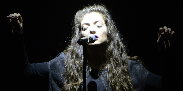 Loading Lorde has booked her biggest festival slot yet - Glastonbury in June.