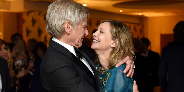 Actors Harrison Ford and Calista Flockhart in 2016. Photo / Getty