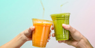 That healthy juice is better consumed sans straw, according to the research of an Oxford psychologist. Photo / Getty Images