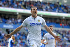Leeds United and All Whites striker Chris Wood could be set for a big money move to the Premier League. Photo / Getty Images.
