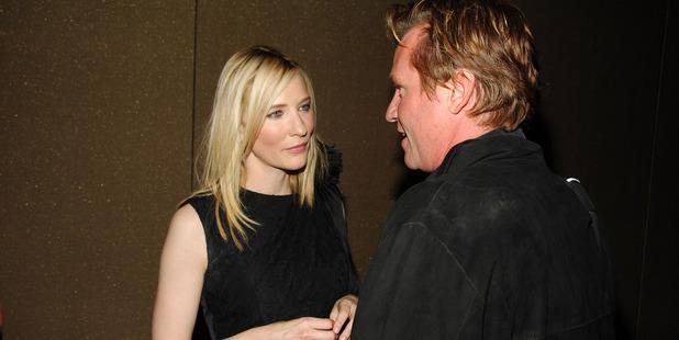 Cate Blanchett and Val Kilmer. Photo / Getty