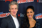 Pearl Mackie (right) plays the companion to Peter Capaldi's doctor, and says it's