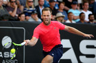 Michael Venus during the ASB Classic. Photo / Getty Images