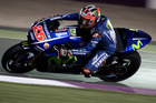 Maverick Vinales of Spain and Movistar Yamaha in action in Qatar. Photo / Getty Images