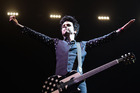 Billie Joe Armstrong will be here with pop-punk act Green Day for two shows in May. Photo/Getty