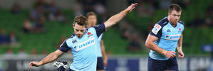 Bernard Foley of the Waratahs. Photo / Getty