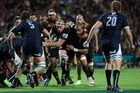 Brodie Retallick carries the ball during the Chiefs' win over the Bulls. Photo / Getty