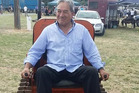 Winston Peters gets ready to deal to some bulldust. Photo / Winston Peters Facebook