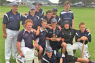 Tauranga Boys' College celebrate after winning the B Grade final on Saturday. Photo/ Supplied