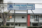 Mt Albert Primary School in Auckland which is at student capacity. Photo / Dean Purcell