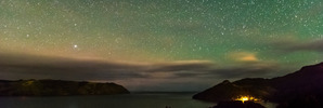 Southern Lights snapped in Auckland