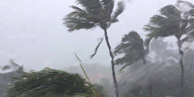 Loading Strong winds and heavy rain lashes Mackay in Queensland ahead of Tropical Cyclone Debbie. Photo / Facebook