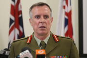 Lieutenant General Tim Keating during his press conference over allegations made in the book Hit & Run Picture / Mark Mitchell