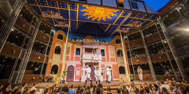 The Pop-up Globe at Auckland's Ellerslie racecourse is in town until May.