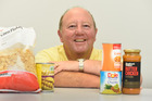 Wayne George from Papamoa Progressive Association is running a  food drive for Tauranga foodbank. PHOTO/GEORGE NOVAK