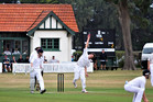Wanganui Collegiate cricketer Connor O'Leary bowls his way to Sri Lanka and Singapore next month. PHOTO/Rob van Dort
