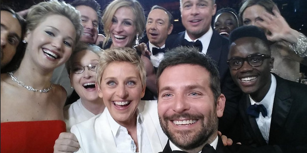 Ellen Degeneres' selfie pic from the 2014 Oscars has been called the best photo ever.