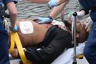 Khalid Masood sent a WhatsApp message before his rampage on Westminster Bridge. Photo / AP
