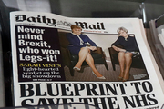 Britain's Daily Mail newspaper has responded to criticism of its front page telling people to 'get a life'. Photo / AP