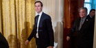 Jared Kushner viewed investments in terms of opportunity costs at the New York Observer. Photo / AP