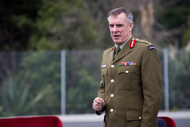 Chief of Defence Force, Lieutenant General Tim Keating. New Zealand Herald Photograph by Jason Oxenham