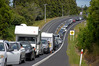 Crashes along SH2 in the Western Bay of Plenty often cause backed up traffic. Photo/File