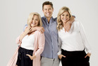 Sarah Gandy, Sam Wallace and Toni Street. The Hits breakfast crew. Photo / Supplied