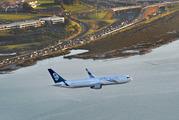 An Air New Zealand Boeing 767.