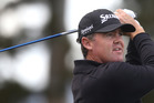 IN FORM: Tauranga pro Mark Brown shot 63 to lead after round one of the Akarana Open on the Jennian Homes Charles Tour. PHOTO: File