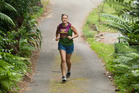 Jo Liddell is training for her first marathon, the Rotorua Lion Foundation marathon, in May. Rotorua Daily Post Photograph by Ben Fraser