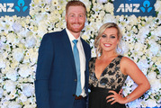 Martin Guptill and Laura McGoldrick are expecting their first child. Photo / Norrie Montgomery.