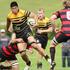 Greerton v Whakarewarewa Baywide Premier match at Greerton Park. Greerton's Yuta Onodera makes a storming run. Photo/Ben Fraser