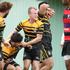 Greerton v Whakarewarewa Baywide Premier match at Greerton Park. Greerton players celebrate a try. 2Photo/Ben Fraser