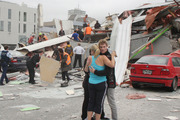 Researchers say people who haven't experienced natural disasters, like the Christchurch Earthquake, have been motivated after speaking with friends and family who have. Photo / File