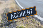 The driver of a car has died in a crash with a truck on SH2 at Mangatawhiri this morning. Photo / NZME
