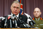 Wayne Mapp during his time as Defence Minister in 2011. Photo/Wayne Droug
