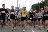 The start of the 2016 Hawke's Bay Marathon along Napier Rd, Havelock North.