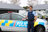 Jymahl Glassey, the new senior sergeant for the Tararua Police.